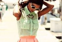 Mint & Coral Outfits.