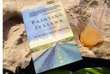 Painting Juliana by Martha Louise Hunter / my new novel