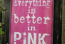 Pink love / Everything PInK  !
