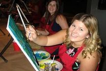 Paint Party / You came, you saw, you painted!
