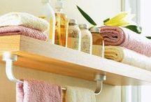 Creative ideas in the bathroom - Kreatív fürdőszobaötletek / Mint ahogy a cím is mutatja, ezen a táblán olyan ötletek szerepelnek, melyeket kipróbálhatsz fürdőszobádban. :)