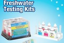 Freshwater Testing Kits / Looking for the right test kit to keep your aquarium running smoothly? If you've got a Freshwater Aquarium, look no further!