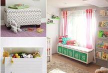Furniture to the kids' room - Bútorok gyerekszobába / Ez a tábla ötleteket ad ahhoz, hogy kreatív bútorok kerülhessenek a gyerekszobába, illetve hogy a kicsiknek tetsszen a régi darabok átalakított változata is.