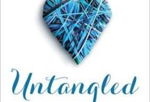 Untangled / Pins to support the new book by Carey Scott: Untangled
