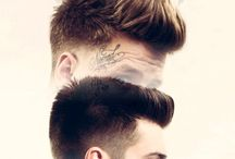 Men's Hairstyles. / Hairstyles for men that I love.