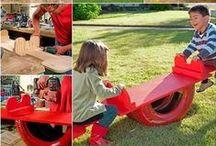 Toys in the garden - Játékok a kertben