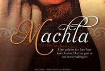 Machla / Historische roman 'Machla' van Uitgeverij Mozaïek. Beelden bij het boek.