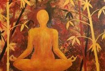 Yogart / The act of painting can bring you peace and balance.