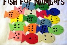 Learning the numbers - Megtanulni a számokat / Fun ways to teach the numbers for your toddler. Szórakoztató játékok számokkal kicsiknek.