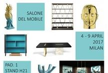 Salone del Mobile 2017 project / Project for our booth at the Furniture Fair in Milan