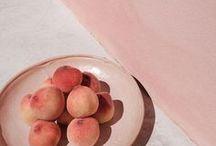 Peach Moodboard