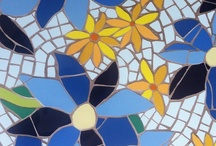 Mosaic flowers - colour all year round! / Have your garden inside with you all year round with a colourful flower mosaic - sunflowers, daisies, tulips, daffodils, whatever I make all of them - or perhaps you would like to commission me to make your favourite flower - one of my favourite things to do!