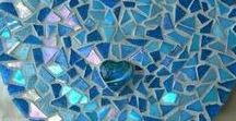 Mosaic hearts - not just for Valentine's day! / Hearts are a great gift at any time of the year, and mosaic hearts are so versatile and colourful.