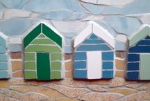Mosaic beach hut memories