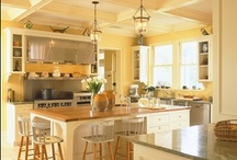 Yellow And Brown Kitchens