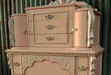 Furniture...runs with brushes / out with the new and in with the old