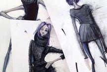 I L L U S T R A T I O N / Illustration inspiration for my Senior Collection illustration. / by B. C O U N C I L