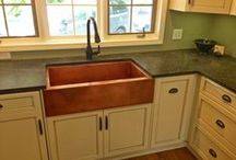 Customers' Photos / Everyone has one, and spends time using it, everyday. These are examples of kitchen sinks we sold, and our customers sent pictures back to share. Enjoy!