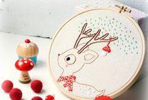 Bożonarodzeniowe wyszywanie ❄ / Christmas embroidery and cross stitch patterns
