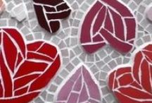 Valentines Day mosaic collection - mosaic hearts, mosaic flowers and so much more! / This board is all about beautiful, unusual mosaic gifts for Valentines Day. All mosaics are available to buy from the Felicity Ball mosaics website - www.felicityballmosaics.com