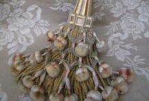 TASSELs & Tie Backs / jewelry for your drapes and curtains