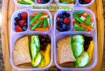 Packing a Healthy Lunch / Healthy lunch ideas