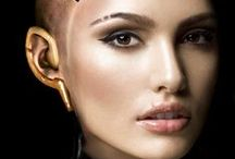 Cyber / Collecting inspiration and ideas for a cyberpunk-future tattoo, make-up and hairstyles... and any things like that ... :)