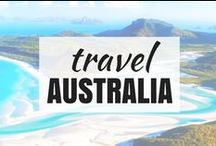 Travel | AUSTRALIA & NEW ZEALAND / beautiful places in Australia and New Zealand