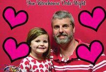 Daddy Daughter Dance / Daddy Daughter Dance at Fun Warehouse myrtle Beach http://www.funwarehousemb.com/