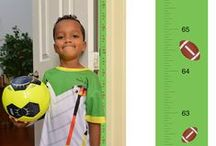 Mom Approved Products / Patent Pending Mom Approved PeekaBoo Growth Charts Track & Measure your Kid's Height. Fits in Standard Door Jamb, Removable & Reusable, Self-Adhesive [72 x 1.25 Inches] available on Etsy, Amazon, Ebay and www.momapproved.net