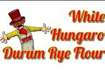 Our Products / You could find here our Hungaro Durum Rye Flour types! For more information please visit: www.durumryeflour.hu