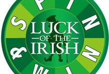 Luck Of The Irish-Fun Madness / We love March. We have awesome games and prizes all month long. Do you feel lucky?