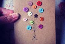 Cards / Κάρτες χειροποίητες για ευχές