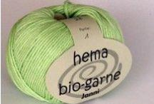Strickgarn / Baumwolle aus kontrolliert biologischem Anbau