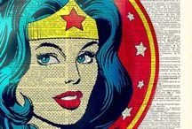 Superheroes / Superhero (and villain) awesomeness ⚡️ Mostly Wonder Woman & Batman