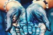 Color palettes , blue / Blue, μπλε,azzurro,azul