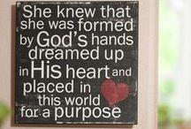 Faith / Inspiring quotes to strengthen my faith!