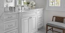 Bathroom Cabinetry / Dreaming of a new bathroom? Whether you are building new or remodeling, Merillat has all the cabinets, vanities, hardware and storage accessories to bring your custom bathroom to life.