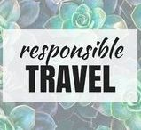 Responsible Travel Tips
