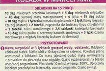 Przepisy kulinarne - ciasta - rolady