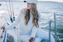 Women's Nautical Style / Nautical style for women (that's cute both on and off a boat).