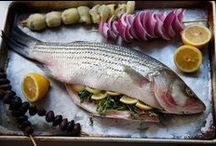 """FISH, Shrimp & Shellfish"" / by Kimberly Sharp-Ko"