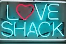 Love Shack, baby / My vacation and retirement dream is a cottage, cabin, trailer...or just my back porch! / by glorious pile