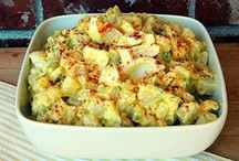 Slaws, Pasta & Tater Salads / by Pam Goloback