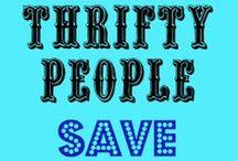 Thrifty Frugal or Cheap / by Mandy Carleton