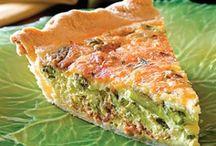 Quiches Frittatas Savoury Slices
