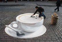 Street art , Sand art & more