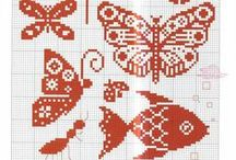 """""""CHARTS/GRAPHS"""" / Charted patterns for knitting, crochet, embroidery and sewing / by Kimberly Sharp-Ko"""