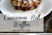 Waffle Iron recipes. / Things to make in a waffle iron other than waffles!! / by Tanya Stewart