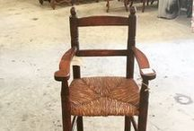 French chairs / Antique chairs from France/England/Netherlands